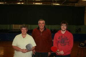 C grade Winners - Blades, Heather McGregor, Chris McGregor, Rhys Edwards